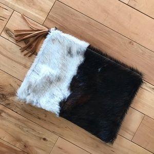 Handbags - Calf Hair Clutch